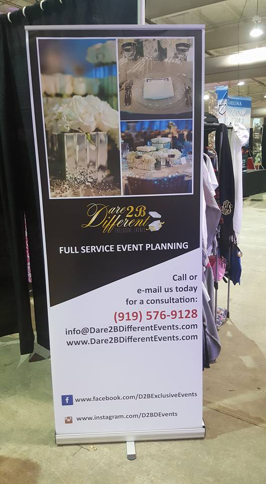 Dare 2 B Different Events - Pop-up Banner