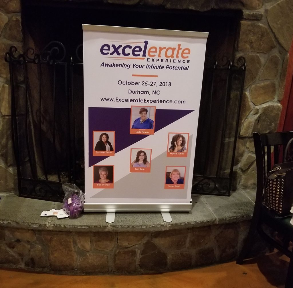 Excelerate Experience - Mini Pop-up banner