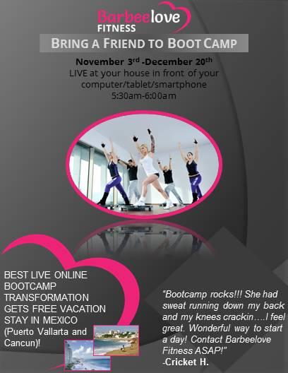 BarbeeLove Fitness - Postcard