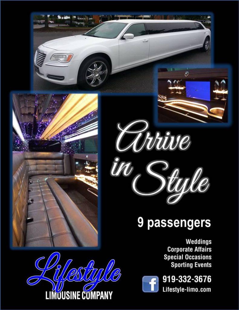 Lifestyle Limousine - Postcard