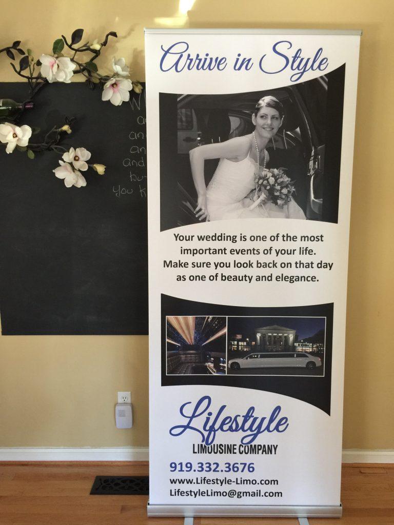 Lifestyle Limousine - Pop-up Banner