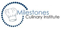 Milestones CHEF HAT blue and gray
