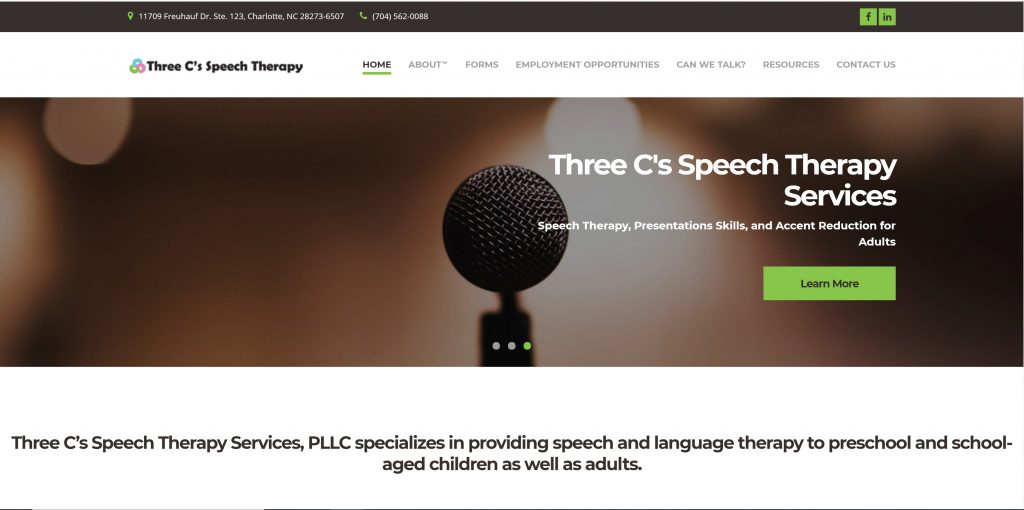 Three C's Speech Therapy