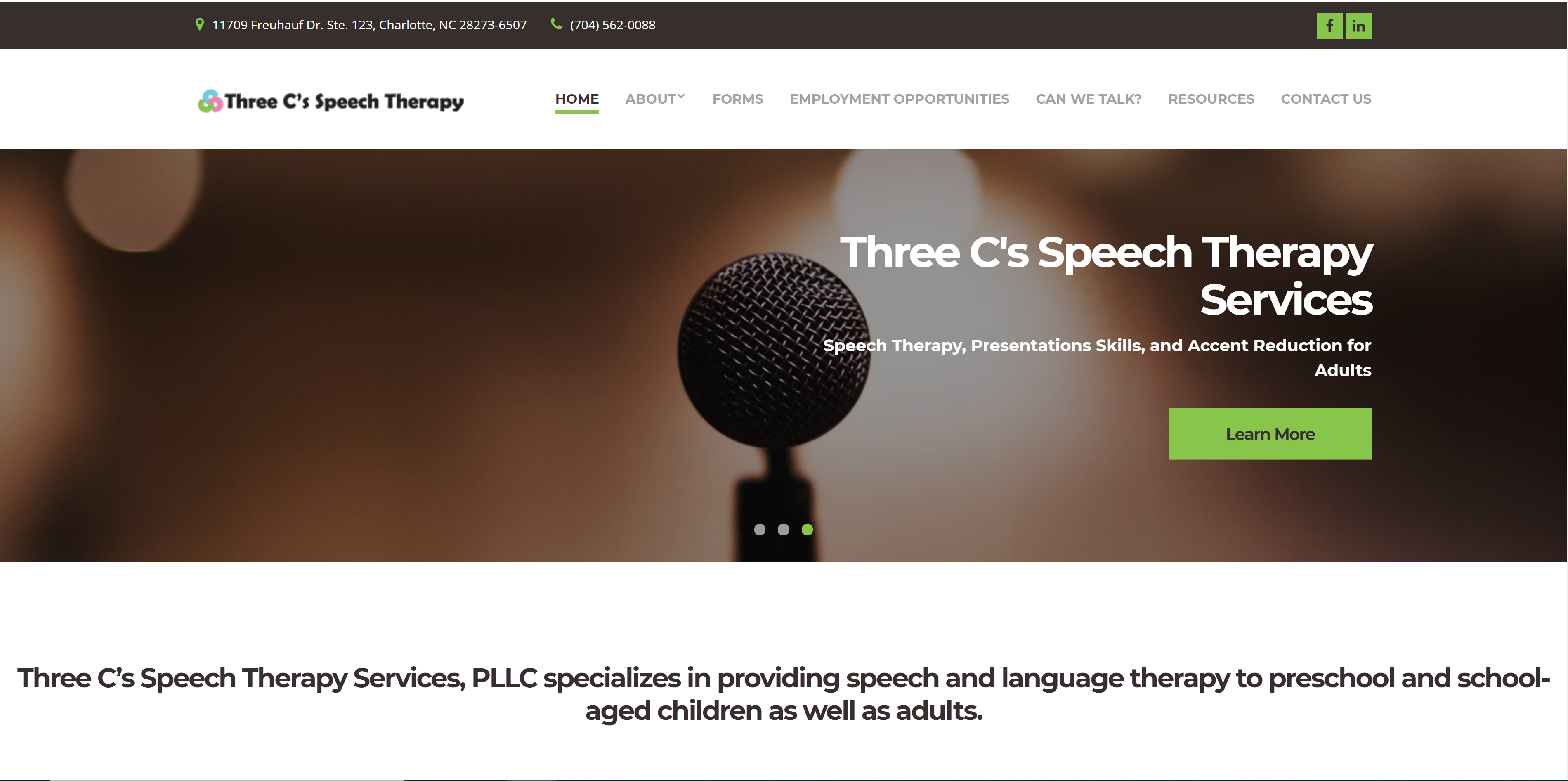 Three C's Speech Therapy